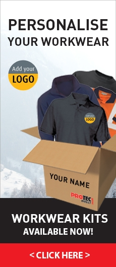Personalise your Workwear... Winter Workwear Kits available now!