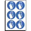 Hand Protection Symbol Sht Of 6 100mm Di