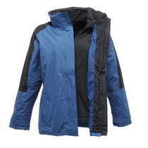 Regatta TRA132 Ladies Defender III 3-In-1 Jacket - Royal/Navy
