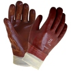 Single Dip PVC Fully Coated Knitwrist Glove