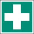 First Aid Symbol (Self Adhesive Vinyl,200 X 200mm)