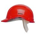 Basic Safety Helmet - Unvented (Red)