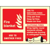 Fire Blanket (Rigid Plastic,200 X 150mm)