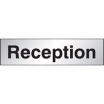Reception Sign (aluminium)