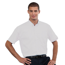 933M Mens Short Sleeve White Shirt