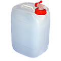 25L Plastic Water Container c/w Tap