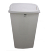 50L Swing-Top Bin White