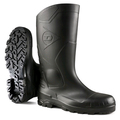 Dunlop Devon Black Full Safety Wellington - S5