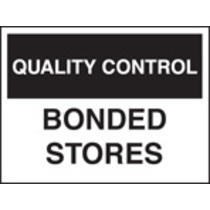 Qc Bonded Store (Rigid Plastic,400 X 300mm)