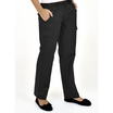UC905 Black Ladies Cargo Trousers