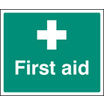 First Aid (Rigid Plastic,300 X 250mm)
