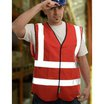 W06-O 1120FR Orange Flame Retardant Waistcoat
