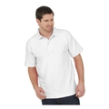 UC101 Lightweight Polo Shirt - White 220GSM