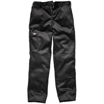 Dickies Redhawk Super Work Trousers - Black Reg Leg