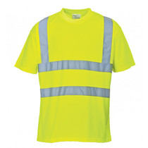 S478 Hi-Vis Saturn Yellow T-Shirt