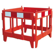 4 Gate Moulded Plastic Barrier - 840mm(W) x 1m(H)