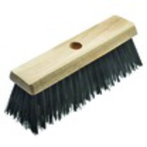 13 Inch Broom Head Green PVC