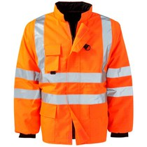 FR AS Hydra Matrix Hi-Vis Orange Gilet - 3XL