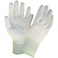 White PU Coated Nylon Glove