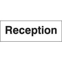 Reception (Self Adhesive Vinyl,450 X 150mm)