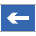 One Way Arrow Only (Rigid Plastic,400 X 300mm)