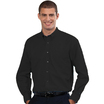 932M Mens Long Sleeve Black Shirt