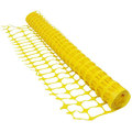 Medium Duty Plastic Mesh Barrier Fencing - Yellow (50M x 1M)