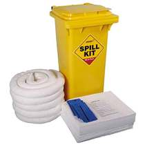 OSK120 Oil & Fuel  Wheelie-bin Spill Kit - 120L