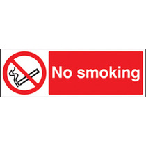 No Smoking (Rigid Plastic,200 X 150mm)