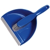 Hygienic Dustpan & Soft Brush Set - Blue