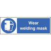 Wear Welding Mask (Rigid Plastic,600 X 200mm)