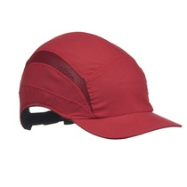 First Base 3 Classic Bump Cap - Red