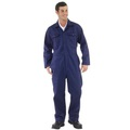 Navy Polycotton Boilersuit
