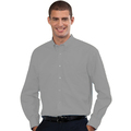932M Mens Long Sleeve Silver Shirt