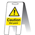 Caution Wet Paint (free Standing)