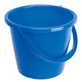 General Purpose 2 Gallon Plastic Bucket - Blue