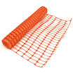 Medium Duty Plastic Mesh Barrier Fencing - Orange (50M x 1M)