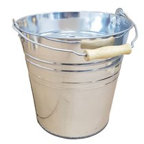 2 Gallon / 9L Galvanised Bucket