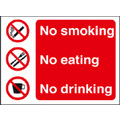 Prohibition & No Smoking Signs 23012E