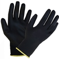 Black PU Coated Nylon Glove