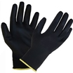 303055 Glo164 Black Pu Palm Coated Glove