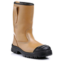 Tan Lined Rigger Boot - S3 SRC