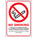 Scotland No Smoking Premises