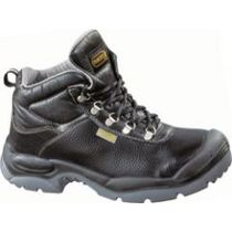 Sault Black Split Leather Safety Boot - S3