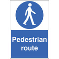 Floor Graphic 400x600mm Pedestrian Route