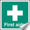 First Aid & Safe Condition Signs - 25x25mm