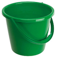 General Purpose 2 Gallon Plastic Bucket - Green