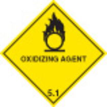Oxidising Agent Diamond (Self Adhesive Vinyl,100 X 100mm)
