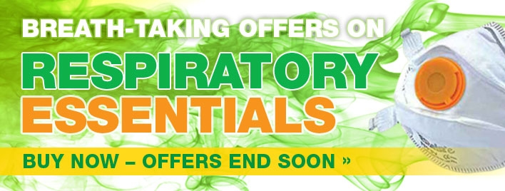 Breath-taking offers on Respiratory essentials!