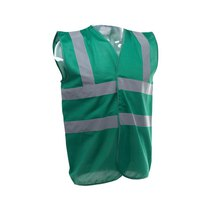 Hi-Vis Executive Vest Green